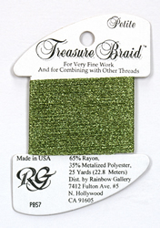 Petite Treasure Braid Avocado - Rainbow Gallery