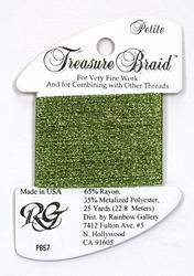 Petite Treasure Braid Avocado - Rainbow Gallery
