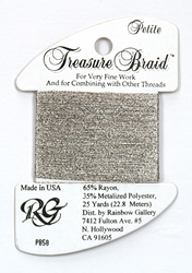 Petite Treasure Braid Antique Silver - Rainbow Gallery