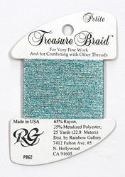 Petite Treasure Braid Morning Waters - Rainbow Gallery