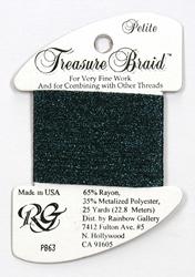 Petite Treasure Braid Deep Midnight Blue - Rainbow Gallery