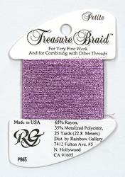 Petite Treasure Braid Lite Violet - Rainbow Gallery