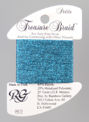 Petite Treasure Braid Agaen Blue - Rainbow Gallery
