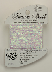 Petite Treasure Braid High Gloss Gold - Rainbow Gallery