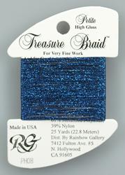 Petite Treasure Braid High Gloss Royal Blue - Rainbow Gallery