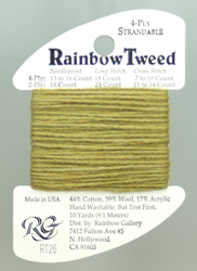 Rainbow Tweed Sea Green - Rainbow Gallery