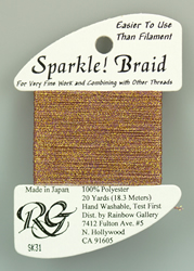 Sparkle Braid Golden Violet - Rainbow Gallery