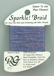 Sparkle Braid Blue Violet - Rainbow Gallery