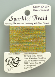 Sparkle Braid Confetti - Rainbow Gallery