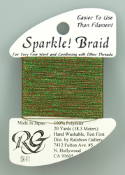 Sparkle Braid Christmas - Rainbow Gallery