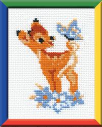 Cross Stitch Kit Bamby - RIOLIS