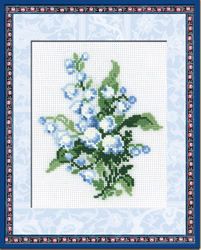 Cross Stitch Kit Lily-of-the-Valley - RIOLIS