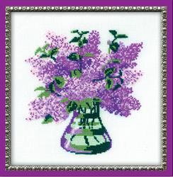 Borduurpakket Bunch of Lilac - RIOLIS
