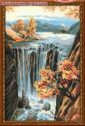 Borduurpakket Waterfall - RIOLIS