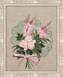 Cross Stitch Kit Bunch of Tenderness - RIOLIS