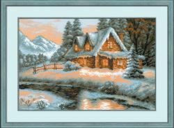 Cross Stitch Kit Winter View - RIOLIS