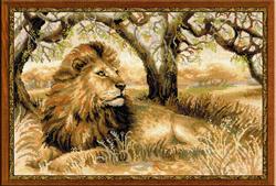 Borduurpakket King of Beasts - RIOLIS