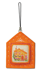Cross Stitch Kit Keychain Hut - RIOLIS