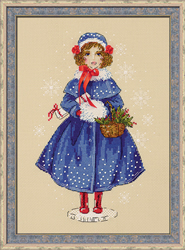 Borduurpakket Doll Marie - RIOLIS