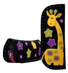 Handwerkpakket Felt Giraffe Spectacle-Pencil Case - RIOLIS