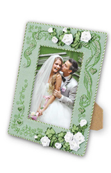 Cross Stitch Kit Photo Frame with Love - RIOLIS