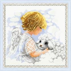 Borduurpakket Day of an Angel - RIOLIS