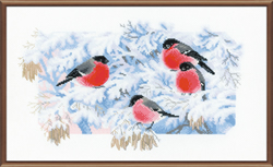 Cross Stitch Kit Frosty Morning - RIOLIS