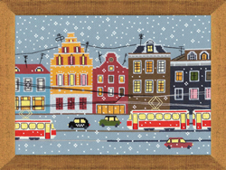 Cross Stitch Kit Tram Route - RIOLIS
