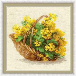 Borduurpakket Yellow Rapeseed - RIOLIS