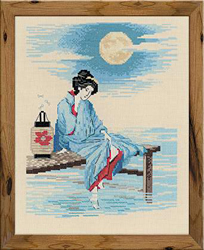 Cross Stitch Kit Bright Moon - RIOLIS