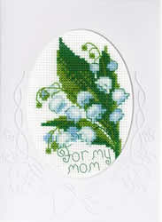 Cross Stitch Kit Card For My Mother - RIOLIS