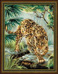 Borduurpakket Owner of the Jungle - RIOLIS