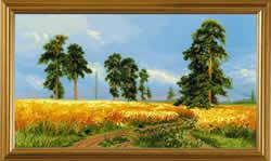 Borduurpakket A Rye Field after I.Shishkin's Painting - RIOLIS