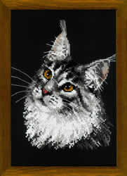 Cross Stitch Kit Maine Coon - RIOLIS