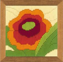 Borduurpakket Poppy - RIOLIS