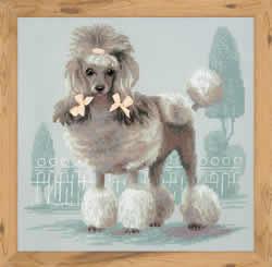 Cross stitch kit Poodle - RIOLIS