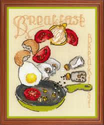 Cross stitch kit Breakfast - RIOLIS