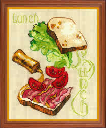 Cross stitch kit Lunch - RIOLIS