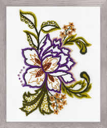Cross stitch kit Flower Sketch - RIOLIS