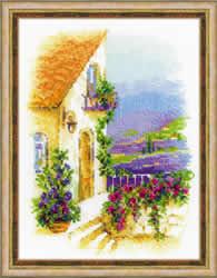 Borduurpakket Provence Street - RIOLIS