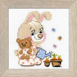 Cross stitch kit Little Garden - RIOLIS