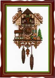 Cross stitch kit Cuckoo Clock - RIOLIS