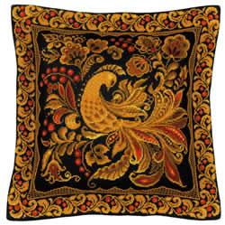 Borduurpakket Cushion/Panel Khokhloma Painting - RIOLIS