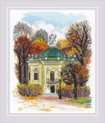 Cross stitch kit Kuskovo Hermitage - RIOLIS
