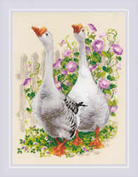 Cross stitch kit Geese - RIOLIS
