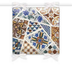 Cross stitch kit Cushion Mosaic - RIOLIS