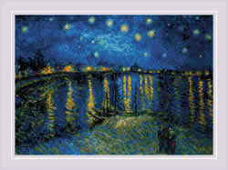 Cross stitch kit Starry Night Over the Rhone after Van Gogh's Painting - RIOLIS