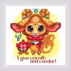 Cross stitch kit Good Souls - Twinkle - RIOLIS