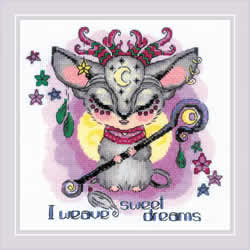 Cross stitch kit Good Souls - Moon - RIOLIS