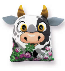 Cushion cross stitch kit Calf Cushion - RIOLIS